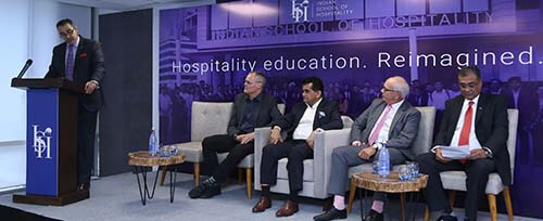 Set to transform higher education, Indian School of Hospitality celebrates its grand opening - ABP Live